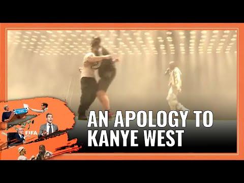 KANYE WEST - GLASTO STUNT   Simon Brodkin CRASHING Kanye set at Glastonbury   A Lee Nelson Apology