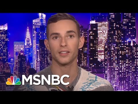 What Adam Rippon Wants To Tell Vice President Mike Pence   Kasie DC   MSNBC