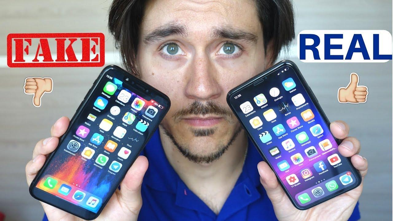 capire se iphone X è originale