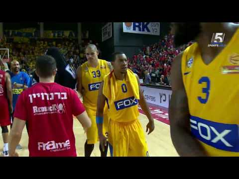 Highlights: Hapoel Tel Aviv - Maccabi FOX Tel Aviv