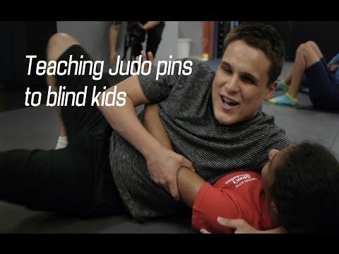 Judo Techniques for blind children