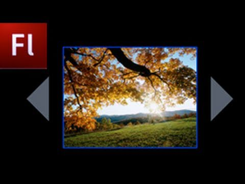 Flash Tutorial: Create an Image Gallery with Next and Previous Buttons! -HD-