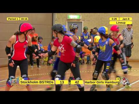 Stockholm BSTRDs vs. Harbor Girls Hamburg - Period 1