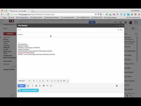 Gmail: To, cc and Bcc