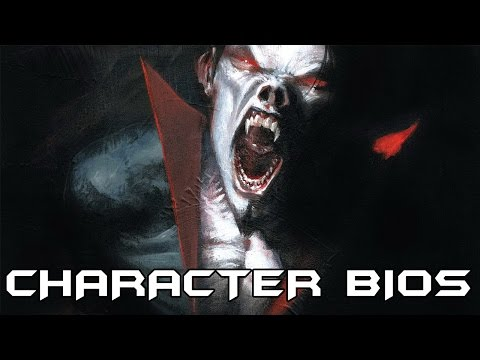 Character Bios: Morbius, The Living Vampire (VILLAINS MONTH #2)