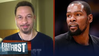 With Kevin Durant, Nets would be dangerous, talks Zion & MJ — Chris Broussard | FIRST THINGS FIRST