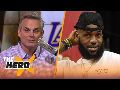 Colin Cowherd on LeBron only considering the Lakers, Kevin Durant's sensitivity  NBA  THE HERD