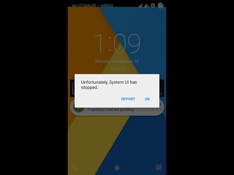 "How to Fix ""Unfortunately System UI has Stopped"" Messages on Android Smartphone after Upgraded"