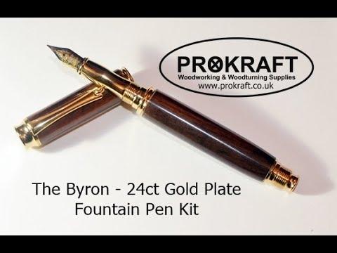 Byron Pen Kit Assembly