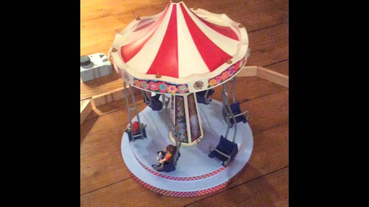 Pr sentation n 1 les chaises volantes playmobil youtube for Les 3 suisses chaises