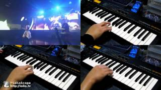 Repeat youtube video Burst The Gravity 主旋律&KEY 耳コピー(片手演奏) ALTIMA [Accel World OP2]