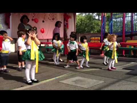 La Bamba- French Nursery School Dance 2013