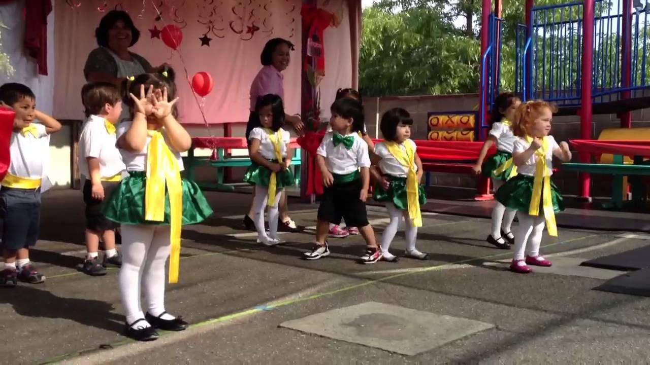 La Bamba French Nursery School Dance 2017