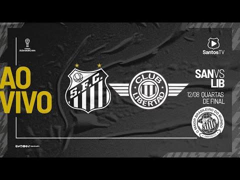 🔴 AO VIVO: SANTOS 2 x 1 LIBERTAD | SUL-AMERICANA (12/08/21)
