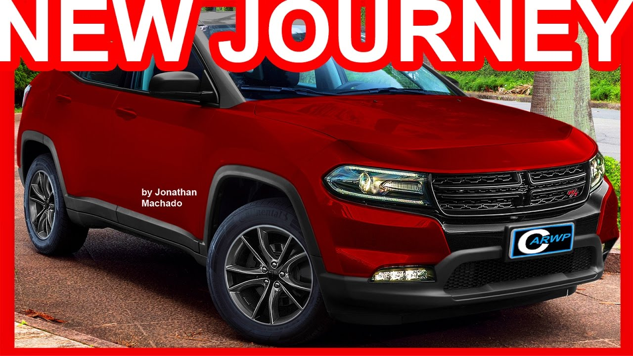 PHOTOSHOP New 2018 Dodge Journey @ Jeep Compass #DODGE - YouTube