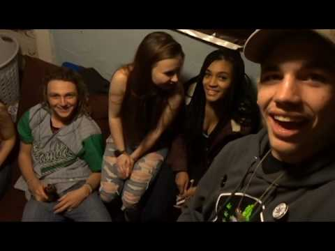 Rapping at a party!!! Vlog