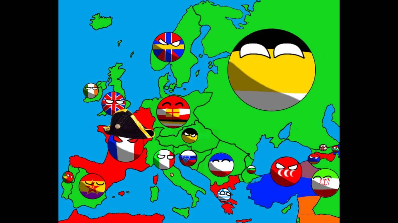 Alternative Future of europe in countryballs #5