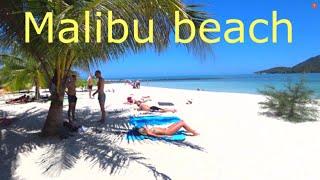пляж Малибу остров Панган Таиланд 2020 Malibu beach Лучший