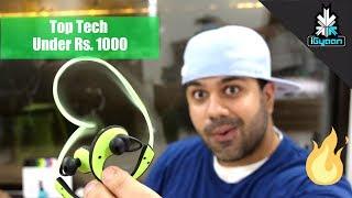 Top 10 Tech Under Rs. 1000 - Budget Shopping