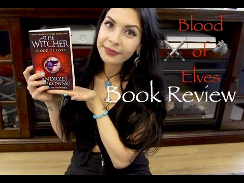 Book Review || The Witcher Blood of Elves ⚔️🐺