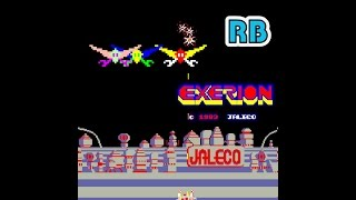 1983 [60fps] Exerion 2994400pts