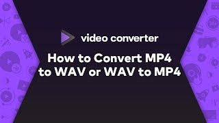 How to Convert MP4 file into AIFF file
