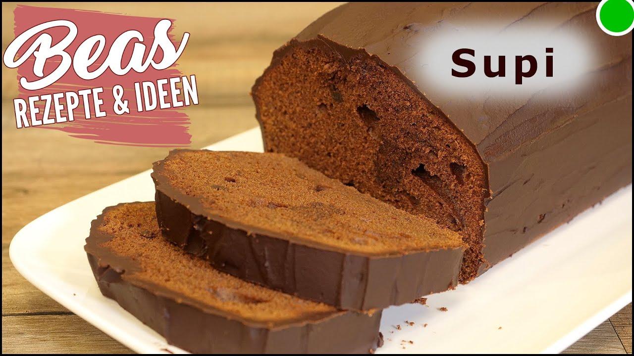 Schokokuchen Backen - Schokoladen Kastenkuchen Rezept