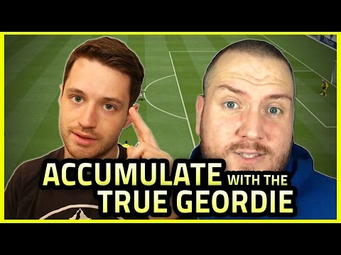 SPENCER VS TRUE GEORDIE VS FIFA | Accumulate