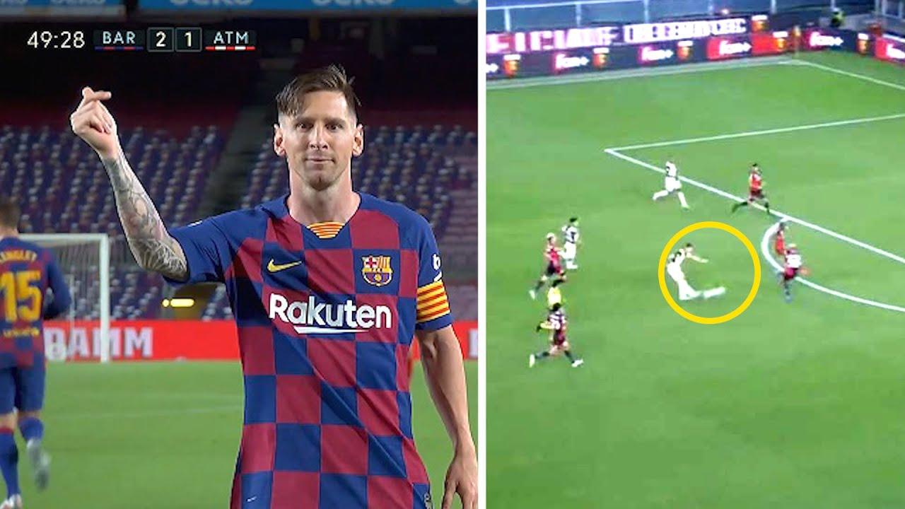Месси ПАНЕНКОЙ забил 700 гол в карьере, ШЕДЕВР от Роналду в ворота Дженоа | Барселона - Атлетико 2:2