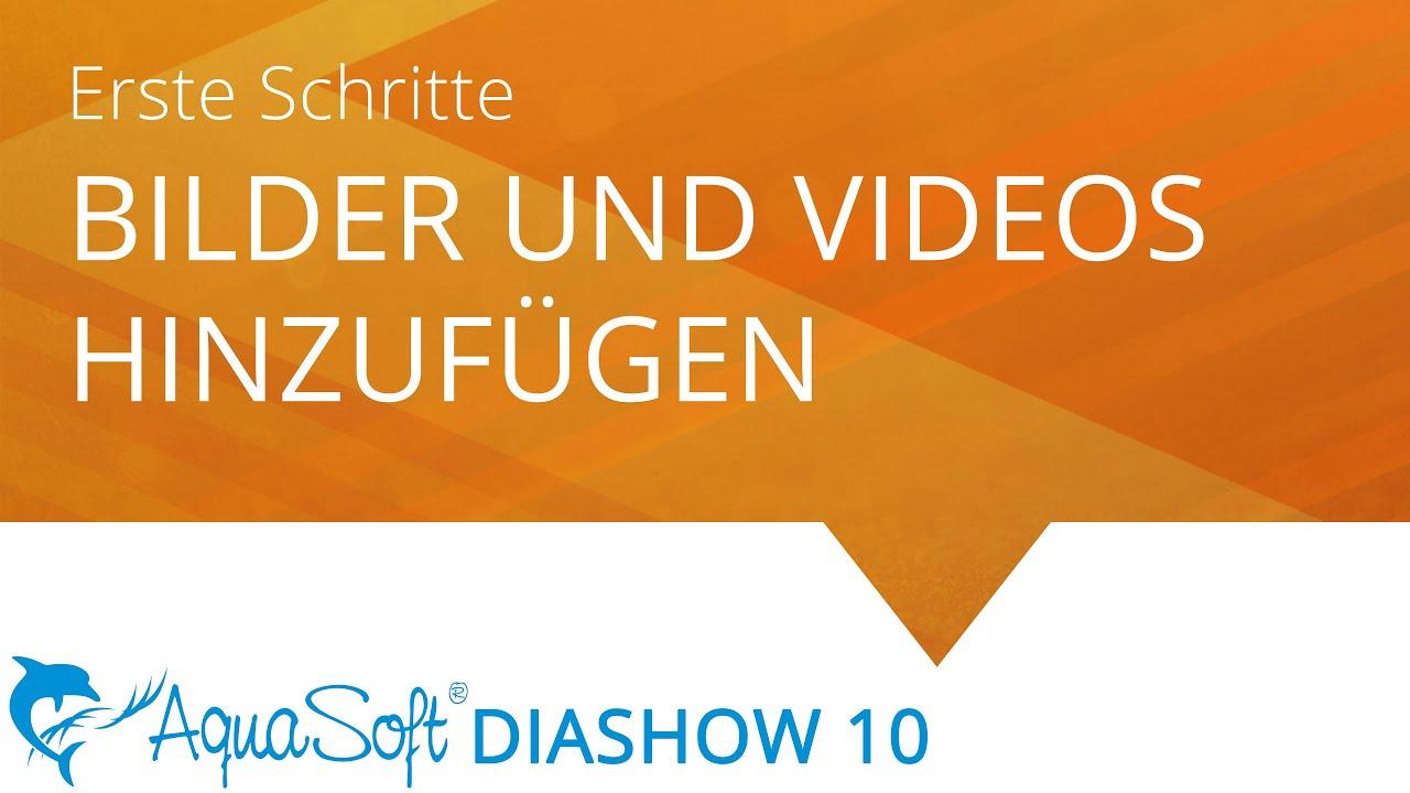 Bilder und Videos hinzufügen (Erste Schritte in DiaShow 10) - YouTube