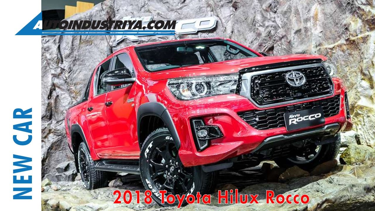 2018 Toyota Hilux up-close at the 34th Thailand Motor Expo