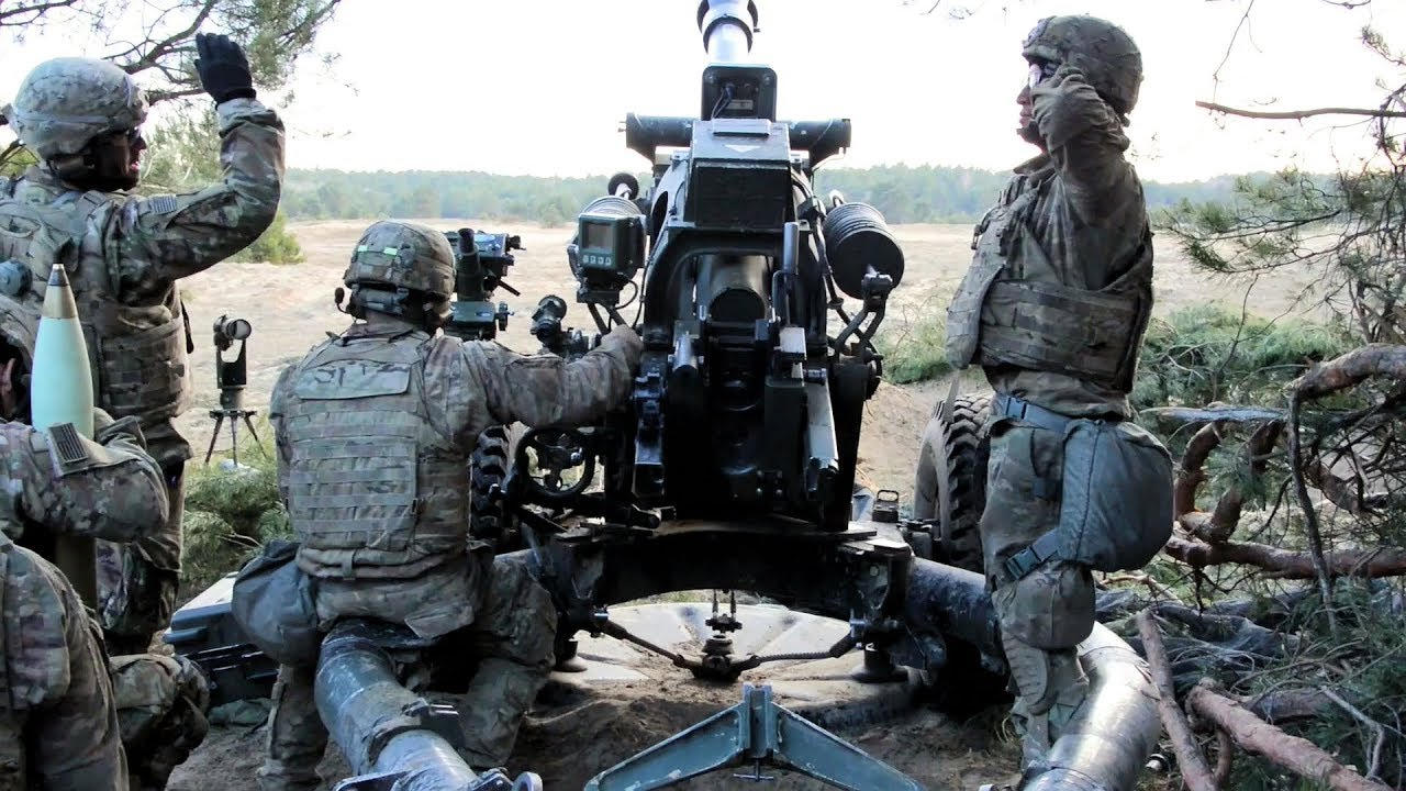 Dynamic Front 173rd Artillery Live Fire