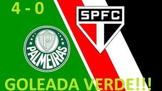 Palmeiras 4 x 0 São Paulo - José Silvério ( Rádio Bandeirantes ) Brasileirão - 28/06/2015