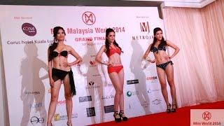 Miss Malaysia World 2014 Grand Final (Part 2) - Bikini & Designer Wear