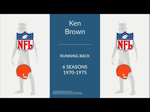 Ken Brown: Football Running Back