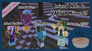 Infernal Mobs Using ONLY ONE FUNCTION PACK! ft. Creeper_girl319 [1.12 Commands]