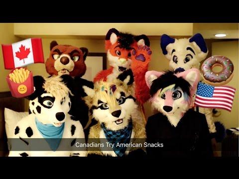 Canadian Furries Try American Snacks!