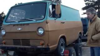 Old chevy van start up