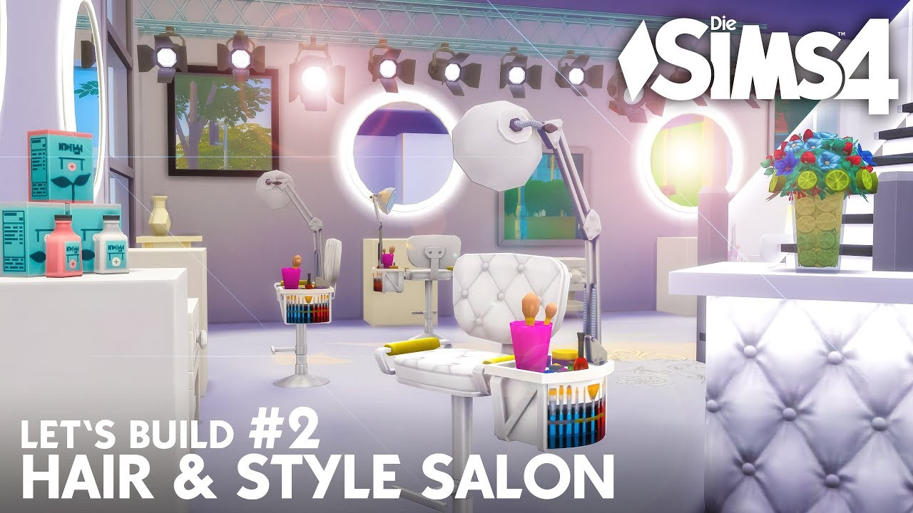 Die Sims 4 Friseur & Mode Geschäft bauen | Hair & Style Salon #2 ...