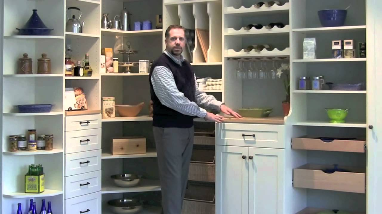 Kitchen Pantry Design - YouTube