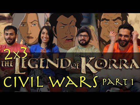 The Legend of Korra - 2x3 Civil Wars Part 1 - Group Reaction