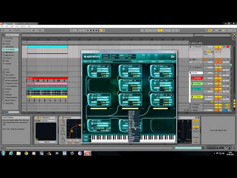 """Absynth 5 Bass Tutorial """" Drum and Bass Patch"""""""