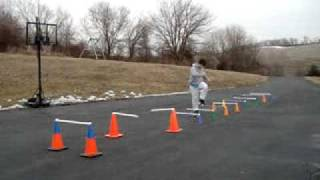 dbc120- Dynamic Baseball Conditioning- Agility Training w/cone hurdles