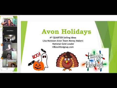 Avon Holiday Selling ideas