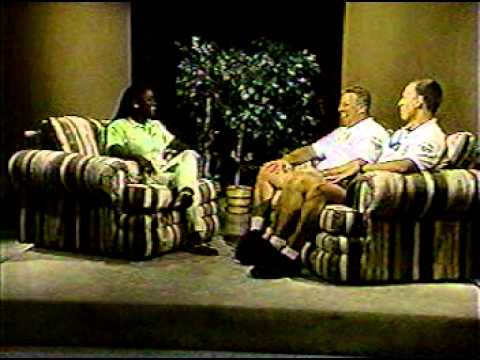 """Police Officers Reggie Koch and Mike Stroup on """"Take 38"""" in the late 1990"""