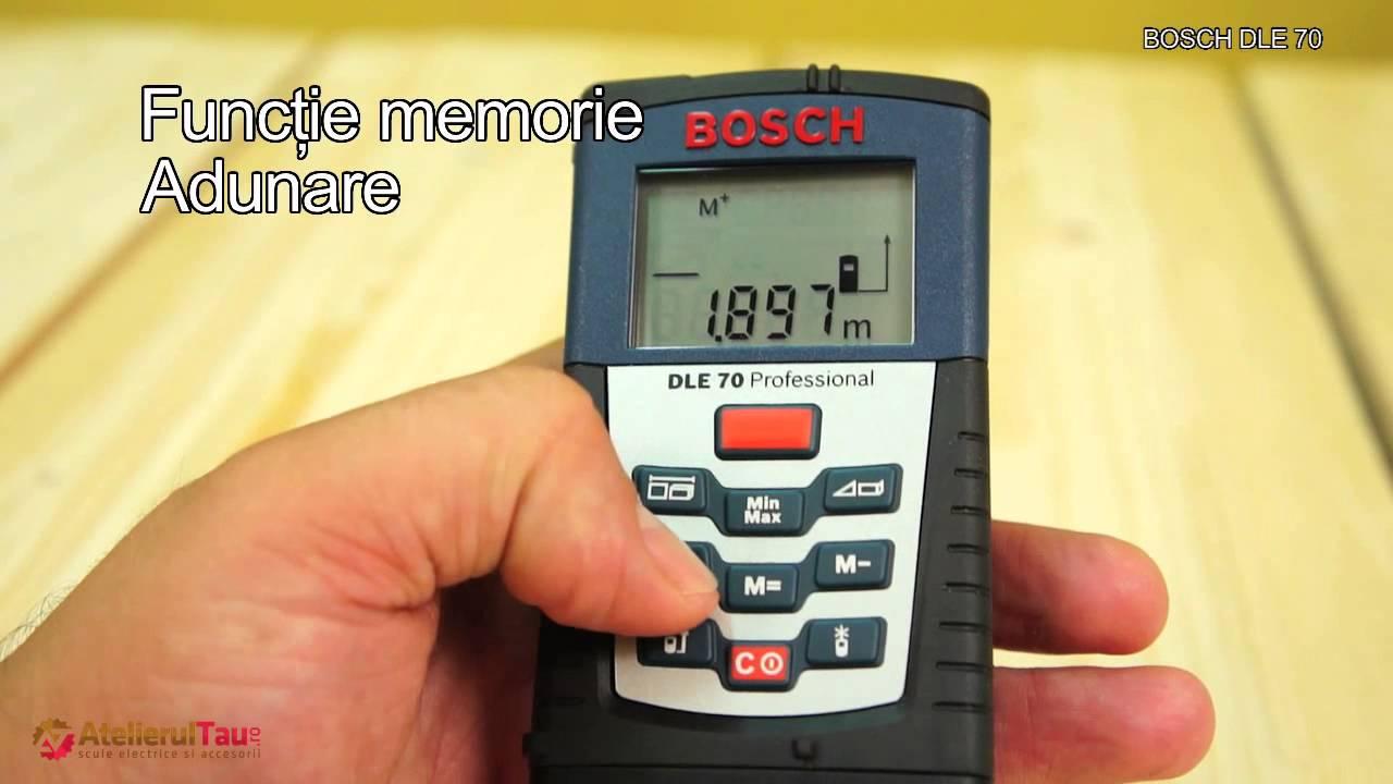 Bosch dle telemetru laser set de livrare atelierultau