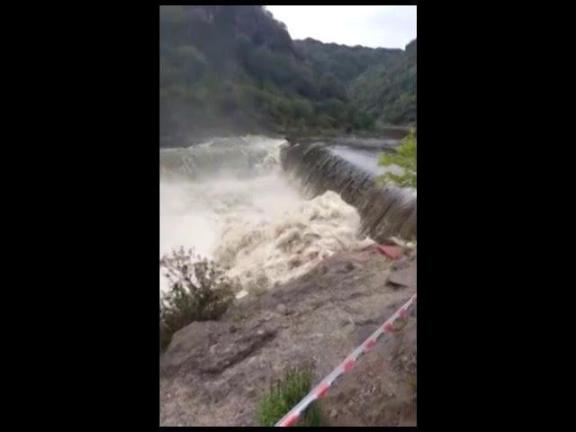 Lo que la lluvia nos dejó: niveles de la creciente y vados cortados