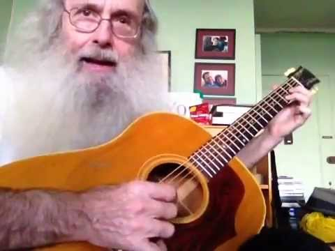 Messiahsez Plays Green Rocky Road. I took Lessons From Dave Van Ronk And He Taught Me This!!!
