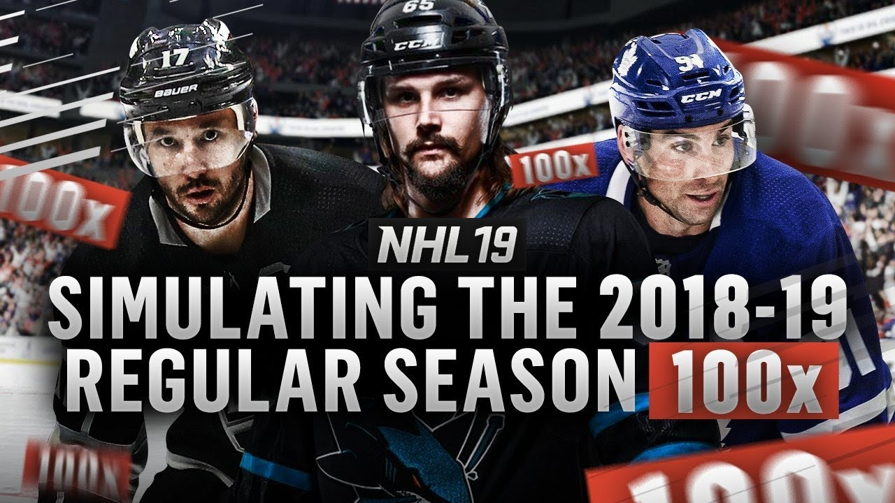 Simulating the 2018-19 NHL Season  100 TIMES  - YouTube edfbadbb9