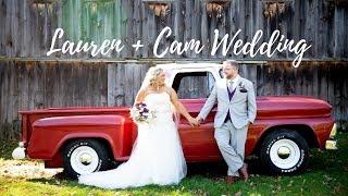Lauren & Cam Wedding at Wright's Mill Farm